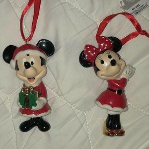 Disney Mickey Minnie Christmas Ornaments